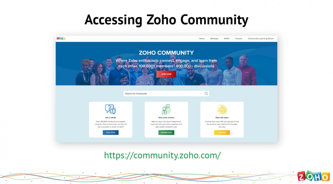 Zoho Michigan Users Group Recap - October 2019 - Blog: CRM Solutions & Industry News | AspenTech CRM - Accessing_Zoho_Community