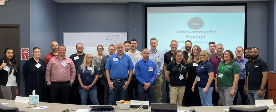 Zoho Michigan Users Group Recap - October 2019 - Blog: CRM Solutions & Industry News | AspenTech CRM - ZUG_20191001_(2)