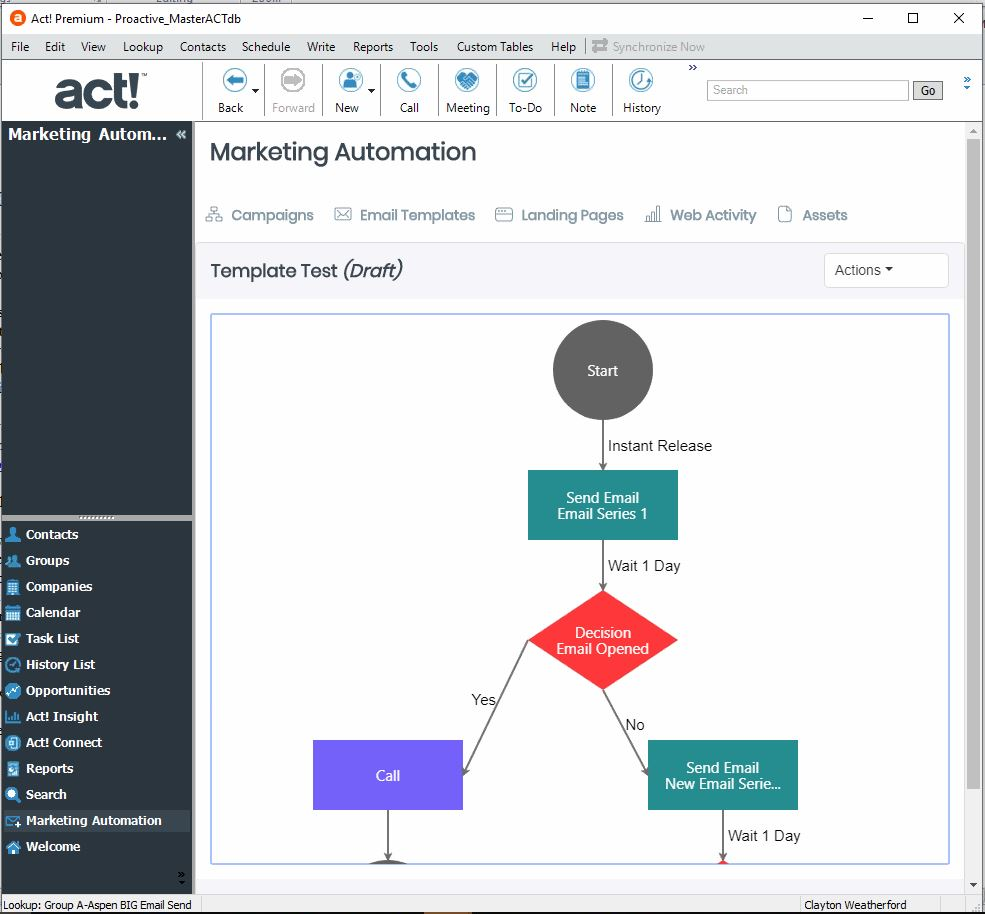 Act! Version 22 Released - Blog: CRM Solutions & Industry News | AspenTech CRM - v22_AMA_Campaign_Templates_Tree